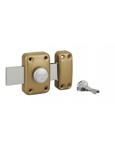 Thirard - Verrou de garage capital à bouton et cyl. 30 mm pêne 160 mm Verrous