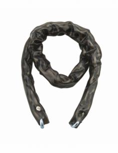 Chaîne acier cémenté zingué Loops, vélo, barrières, Ø 6mm, 0.9m, gaine PVC - THIRARD Antivol