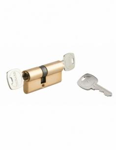 Cylindre de serrure double entrée 5G STD urgence, panneton débrayable, 35x40mm, 3 clés - THIRARD Cylindre à double entrée