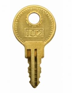 Clé passe pour cadenas à combinaison - 037901 - THIRARD Cadenas à clé