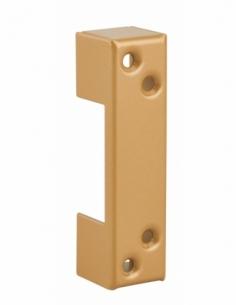 Gâche pour huisserie métallique, acier, epoxy bronze - THIRARD Gâche de porte