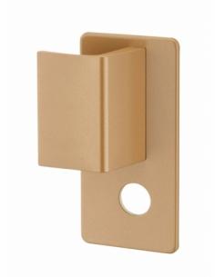 Poignée Targa pour porte palière, gauche, époxy or - THIRARD Poignée de porte