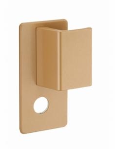 Poignée Targa pour porte palière, droite, époxy or - THIRARD Poignée de porte
