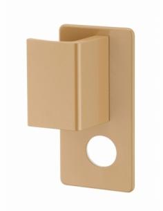 Ensemble de poignées Targa A2P* pour porte palière, gauche, cylindre Ø 30mm, bronze - THIRARD Poignée de porte