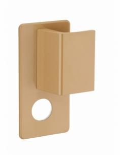 Poignée Targa A2P* pour porte palière, droite, cylindre Ø 30mm, bronze - THIRARD Poignée de porte
