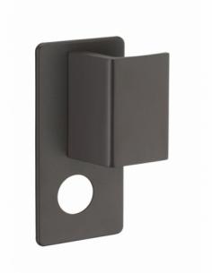 Poignée Beluga A2P* pour porte palière, droite, marron - THIRARD Poignée de porte