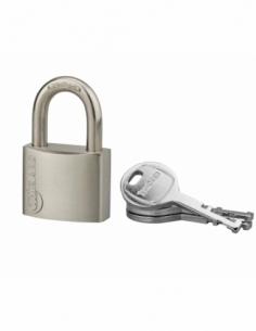 Cadenas à clé Cinox, inox, extérieur, anse inox, 40mm, 3 clés - THIRARD Cadenas à clé