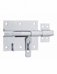 Targette, pêne Ø 14mm, porte-cadenas, acier - THIRARD Targette