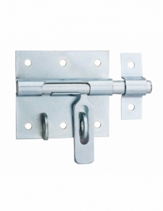 Targette, pêne Ø 10mm, porte-cadenas, acier - THIRARD Targette