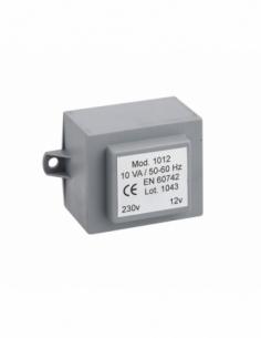 Transformateur 220 - 12V pour gâche électrique, gris - THIRARD Serrure en applique