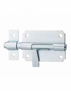 Verrou de box pour portail, pêne Ø10mm - Serrurerie de Picardie Verrous