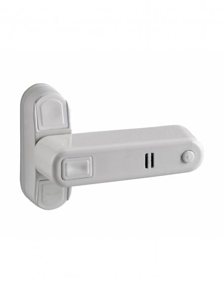 Loqueteau de fenêtre, laqué blanc avec alarme sonore - Serrurerie de Picardie Verrous