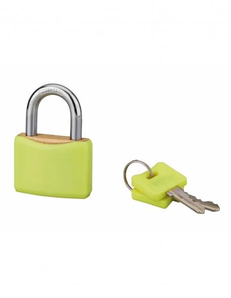 Cadenas à clé SP Color, 30mm, anse acier cémenté, 2 clés - Serrurerie de Picardie Cadenas