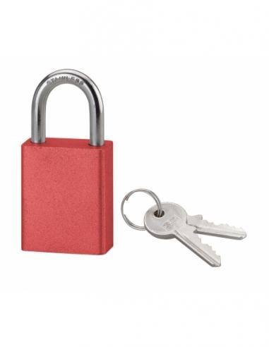Cadenas à clé SP 90 AS, extérieur, 38mm, anse inox, 2 clés - Serrurerie de Picardie Cadenas