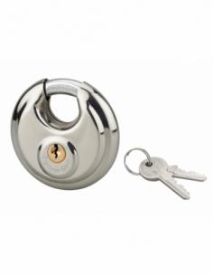 Cadenas à clé SP, 70mm, intérieur, inox, anse acier cémenté, 2 clés - Serrurerie de Picardie Cadenas