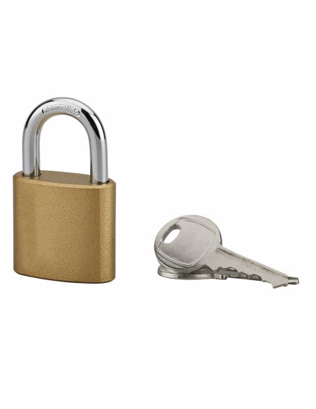 Cadenas à clé, intérieur, ovale, 32 mm, anse acier cémenté, 3 clés - Serrurerie de Picardie Cadenas