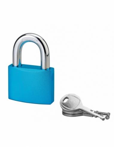 Cadenas à clé Bombe, alu, 50mm, anse acier cémenté, 3 clés - Serrurerie de Picardie Cadenas