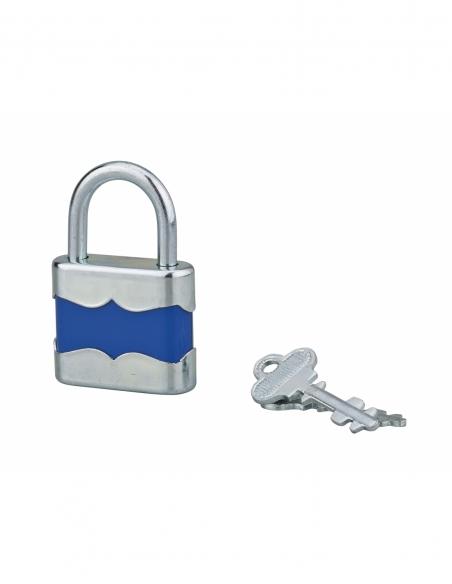 Cadenas à clé fun SP 22, 35mm, anse acier zingué, 2 clés - Serrurerie de Picardie Cadenas