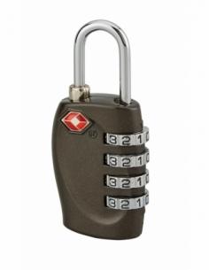 Cadenas à code TSA, bagage, 30mm, anse acier nickelé, 4 chiffres - Serrurerie de Picardie Cadenas