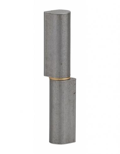 Charnière de porte d'entrée à souder, acier, acier, 80mm, bague laiton - THIRARD Equipement