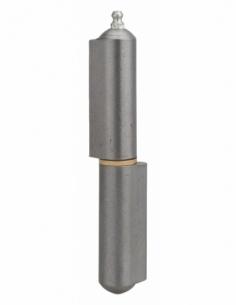 Charnière de porte d'entrée à souder, 160mm, acier, butée à billes - THIRARD Equipement