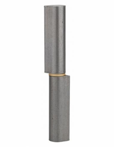 Charnière de porte d'entrée à souder, acier, acier, 160mm, bague laiton - THIRARD Equipement
