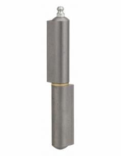 Charnière de porte d'entrée à souder, acier, 140mm, butée à billes - THIRARD Equipement