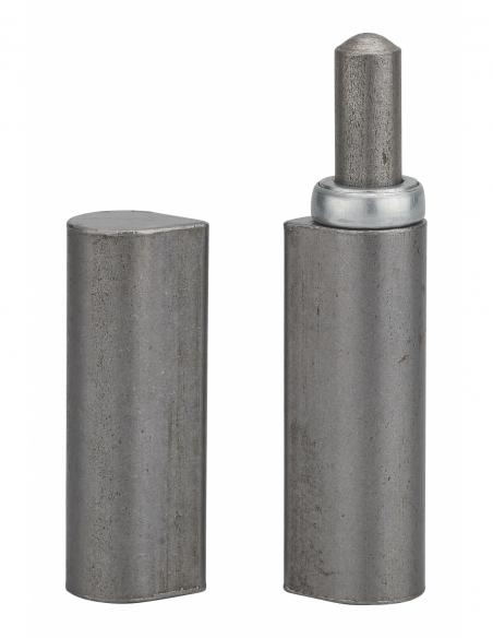 Charnière de porte d'entrée à souder, 140mm, acier, butée à billes - THIRARD Equipement