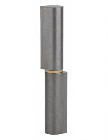 Charnière de porte d'entrée à souder, acier, 140mm, bague laiton - THIRARD Equipement