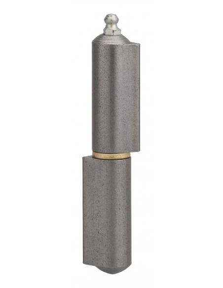 Charnière de porte d'entrée à souder, 120mm, acier, butée à billes - THIRARD Equipement