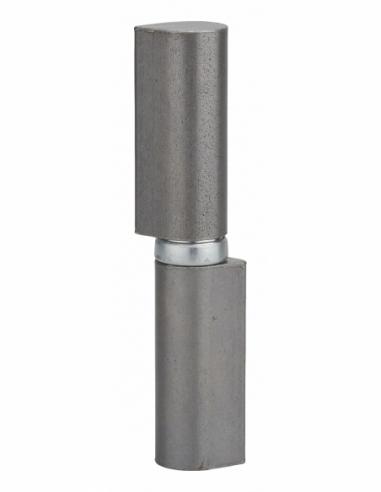 Charnière de porte d'entrée à souder, acier, 120mm, butée à billes - THIRARD Equipement