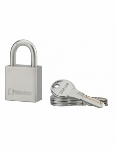 Cadenas RINOX 40mm anse inox 4 clés - THIRARD Cadenas