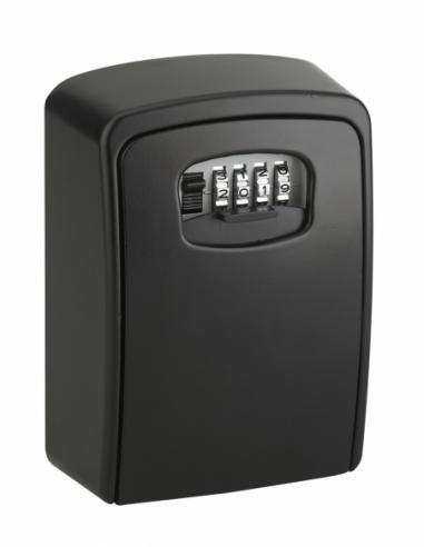 Boite à clé à combinaison, 4 chiffres, 55x105mm, acier, noir - THIRARD Boîte à clés