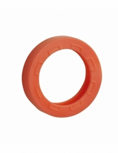 Anneau de clé - orange - THIRARD Consignation