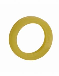 Anneau de clé - jaune - THIRARD Consignation