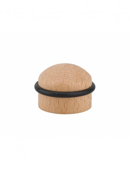 Butoir à visser, fixation au sol, bois, Ø35x28mm - THIRARD Equipement
