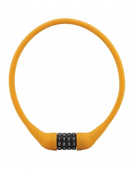 Antivol à combinaison Softy, 4 chiffres, câble acier, vélo, 10mmx0.6m - THIRARD Antivol