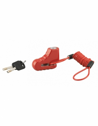 Antivol scooter Block avec câble 2 clés - THIRARD Antivol