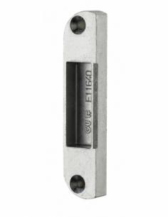Gâche centrale encastrable réversible pour porte bois, 85x18x9mm, Decena-Trimatic, E-11640-00-01 - FERCO by THIRARD Gâche de ...