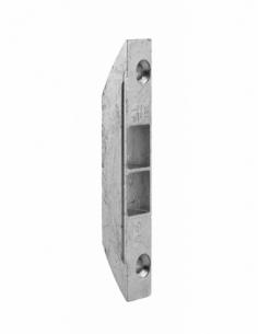 Gâche de tringle à tourpiller double pour fenêtre 2 vantaux, 90x16x11mm, 0-00321-00-01 - FERCO by THIRARD Gâche de porte