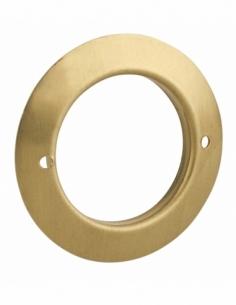 Rosace pour cylindre Ø26mm, laiton - THIRARD Verrous
