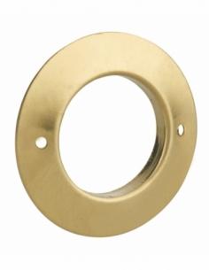 Rosace pour cylindre Ø24mm, laiton - THIRARD Verrous