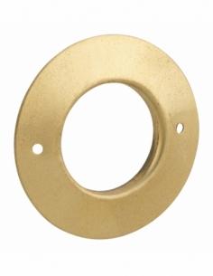 Rosace pour cylindre Ø22mm, laiton - THIRARD Verrous