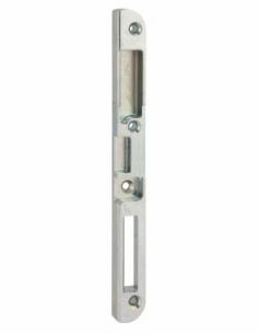 Gâche centrale encastrable pour porte d'entrée bois, gauche, 190x18x13mm, Trimatic, E-13742-00-L-1 - FERCO by THIRARD Gâche d...