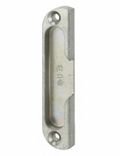 Gâche centrale encastrable réversible pour porte d'entrée bois, 85x18x9mm, E-11638-00-01 - FERCO by THIRARD Gâche de porte