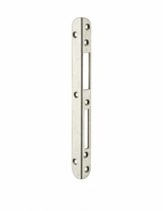 Gâche équerre centrale encastrable pour porte d'entrée bois, gauche, 212x18x18mm, Decena, 0-2747-00-L-1 - FERCO by THIRARD Gâ...