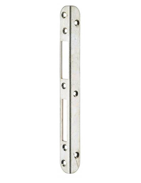 Gâche équerre centrale encastrable pour entrée bois, droite, 212x18x18mm, compatible Decena, 0-2747-00-R-1 - FERCO by THIRARD...