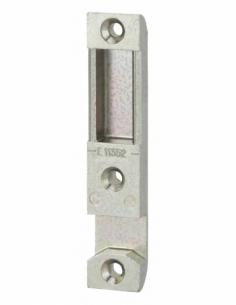 Gâche centrale encastrable réversible pour porte d'entrée bois, 90x18x9mm, Decena, E-11352-00-0-1 - FERCO by THIRARD Gâche de...