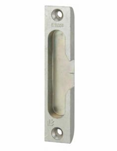 Gâche galet encastrable réversible pour porte bois, 98x18x9mm, Europa-Secury-Fercomatic, E-11351-00-0-1 - FERCO by THIRARD Gâ...