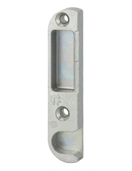 Gâche centrale encastrable pour porte d'entrée bois, droite, 85x18x9mm, compatible Decena, E-13065-00-R-1 - FERCO by THIRARD ...